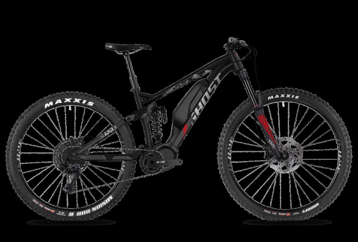אופני הרים חשמליים - GHOST - HYBRIDE SLAMR X S3.7+ AL U